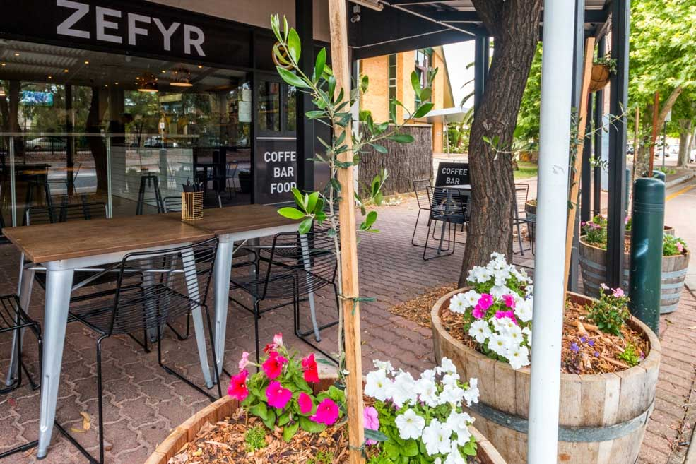 Zefyr Cafe Bar Unley Adelaide
